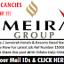 Latest Jobs Jumeirah Group / Jumeirah Hotels & Resorts Need Staff