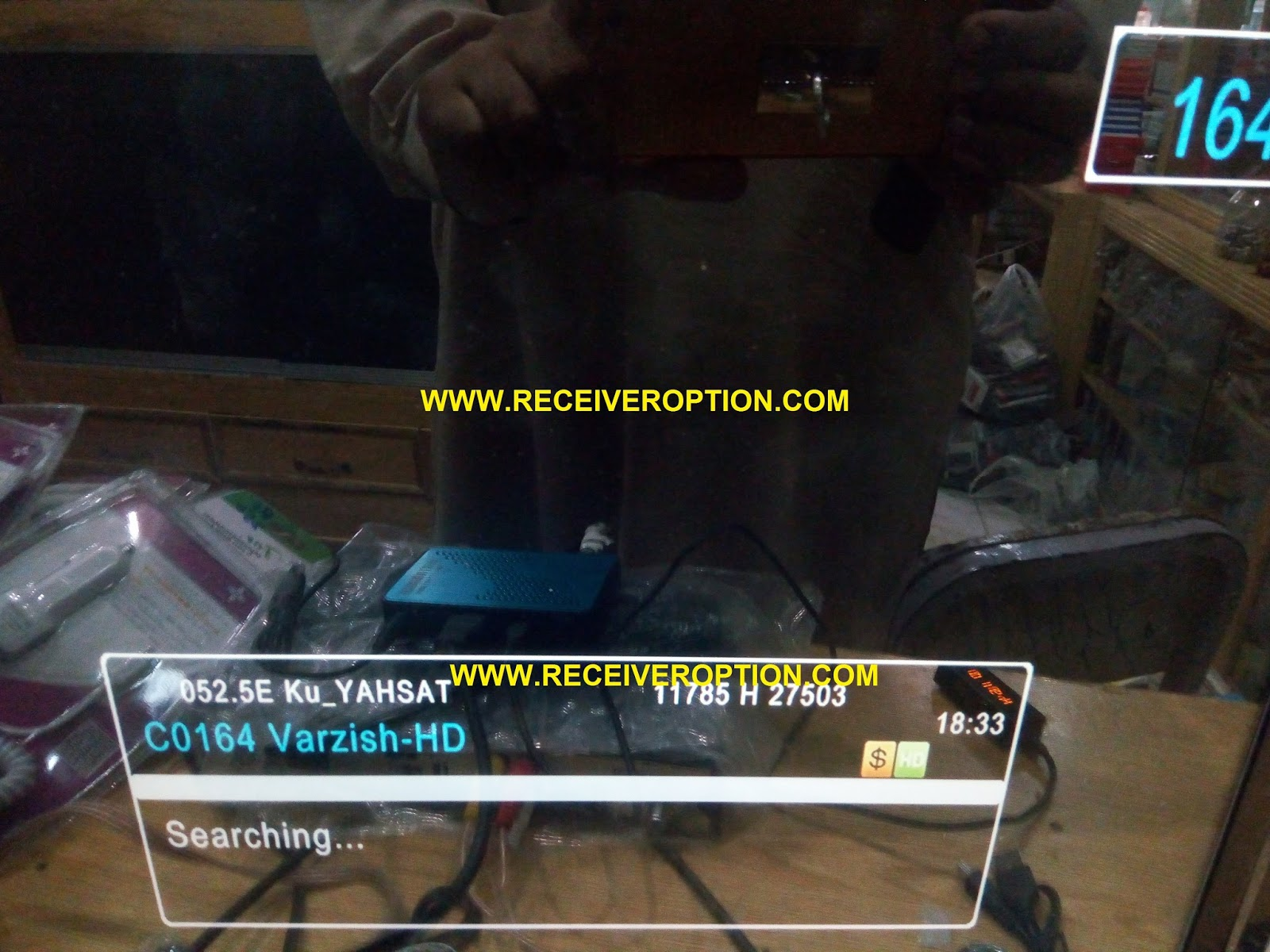 STARGOLD SG-610 HD MINI RECEIVER BISS KEY OPTION - HOW TO ENTER BISS