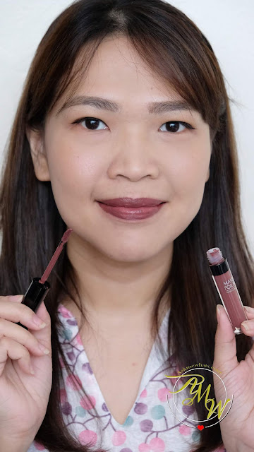 a photo of Make Up For Ever ARTIST LIQUID MATTE lipstick review by Nikki Tiu of www.askmewhats.com