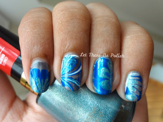 31 Day (Week) Challenge - Day 20: Water Marble