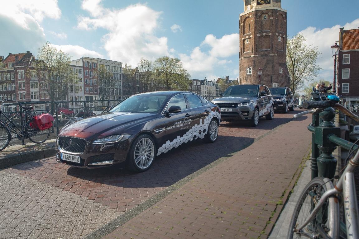 Hoje A Jaguar Land Rover Mostrou Seu Apoio Aos Planos Da União Europeia Em  Padronizar A Tecnologia Empregada No Desenvolvimento De Veículos Autônomos.