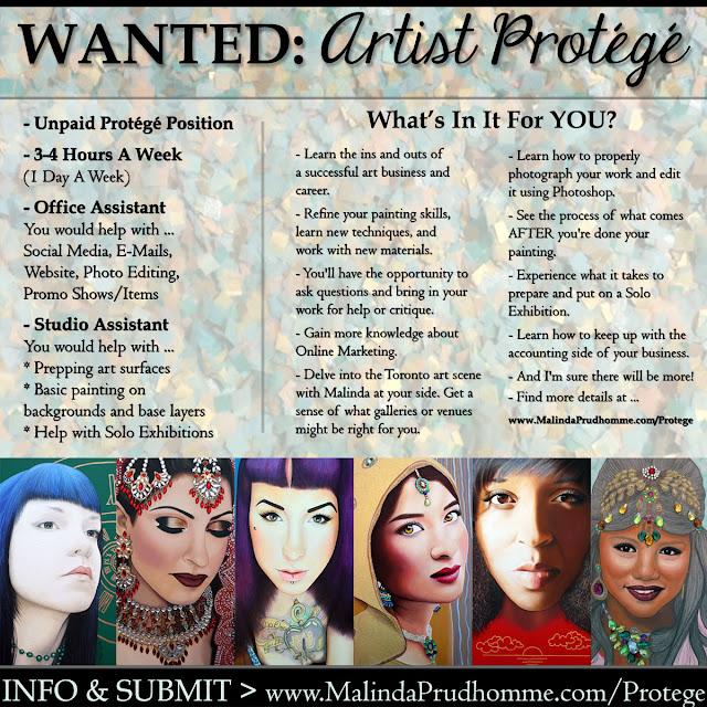 toronto, toronto art, toronto artist, toronto artist protege, new artist, art internship, art mentor, studio assistant