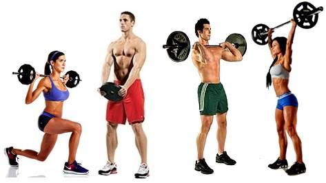 Hacer pesas en la mañana, tarde o noche