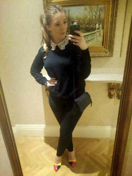 Fashion blog OOTN drinks outfit