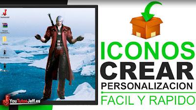 Como Crear Iconos con Cualquier Imagen - Fácil y Rápido