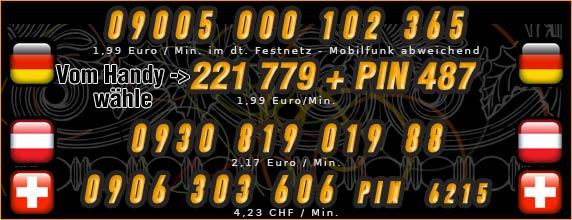 Telefonsexfrauen - Nummern von Teens für Österreich und Schweiz