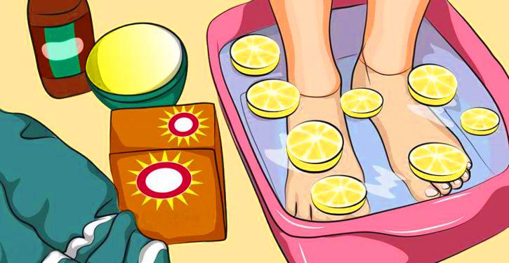 حمام القدمين بالليمون يساعدك على إزالة السموم من الجسم كله