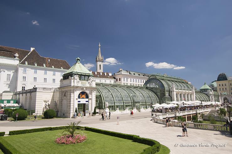Invernadero Hofburg - Viena por El Guisante Verde Project