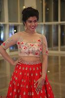 Mahima in beautiful Red Ghagra beigh transparent choli ~  Exclusive 008.JPG