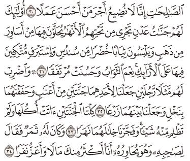 Tafsir Surat Al-kahfi Ayat 31, 32, 33, 34, 35