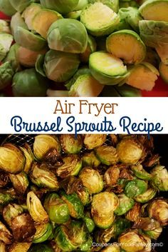 "This air fried brussel sprouts recipe is a healthy snack or side dish at any meal. The Philips Airfryer is a great addition to your kitchen to make healthy meals a ""new"" way!"