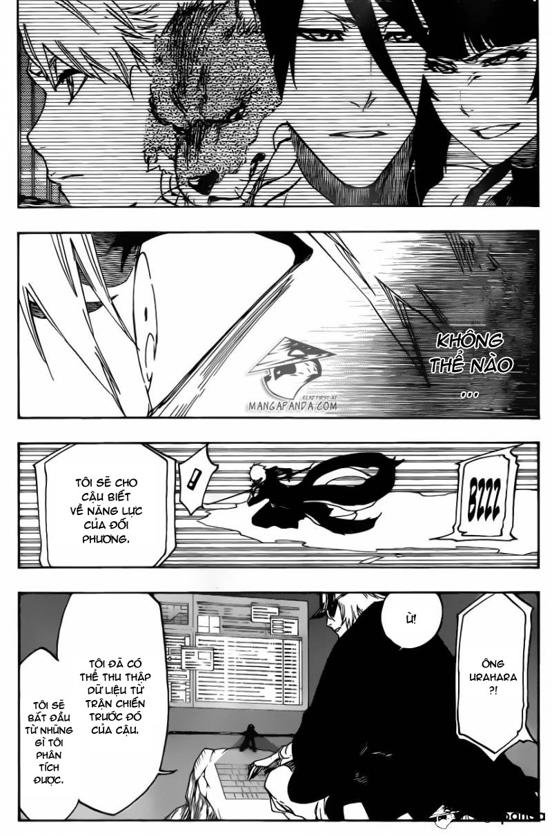 Bleach chapter 499 trang 7