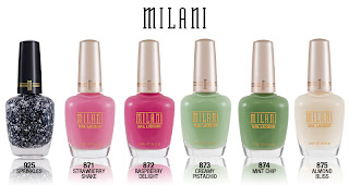 Milani Cosmetics New Limited Edition Nail Collections