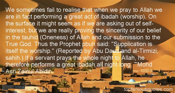 Allah Quotes - We sometimes fail to realize that