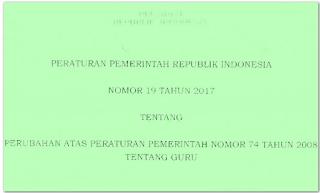 PP Nomor 19 Tahun 2017