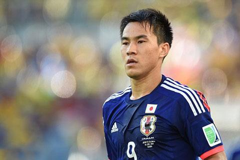 Okazaki ghi được 43 bàn trong 93 lần khoác áo ĐT Nhật Bản