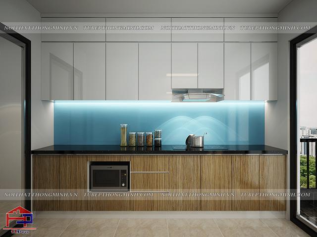 Mẫu thiết kế tủ bếp nhựa acrylic -9