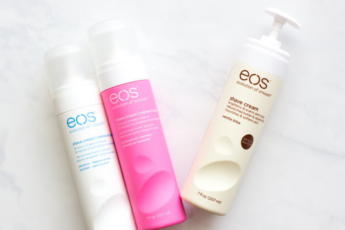 eos 24-Hour Moisturizing Shave Cream Review