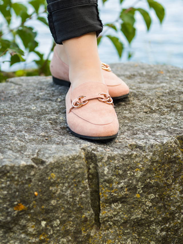 Slipper in Rosa