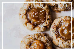 Vegan Salted Caramel Coconut Thumbprint Cookies Recipes