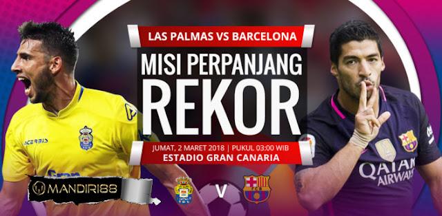 Prediksi Las Palmas Vs Barcelona 2 Maret 2018
