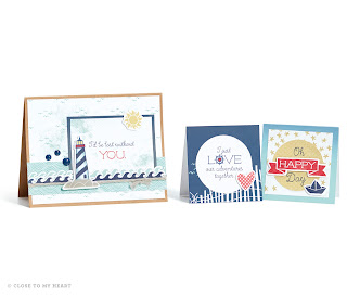 CTMH Cards Using Regatta Paper
