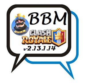 BBM MOD Clash Of Royale v2.13.1.14 APK Terbaru Gratis