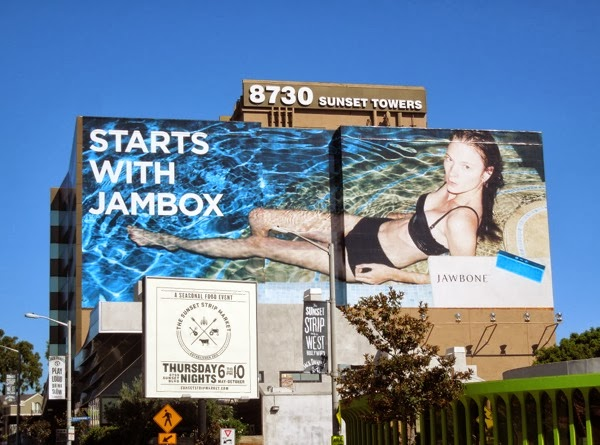 Starts with Jambox swimming pool Jawbone billboard