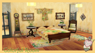 Colorful Room The Sims 4