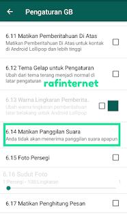 Cara mematikan panggilan suara WhatsApp / menonaktifkan panggilan masuk whatsapp di android