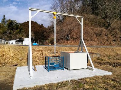 椎茸ホダ木浸水用設備