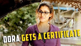 #Nayanthara's #Dora Gets A Certificate