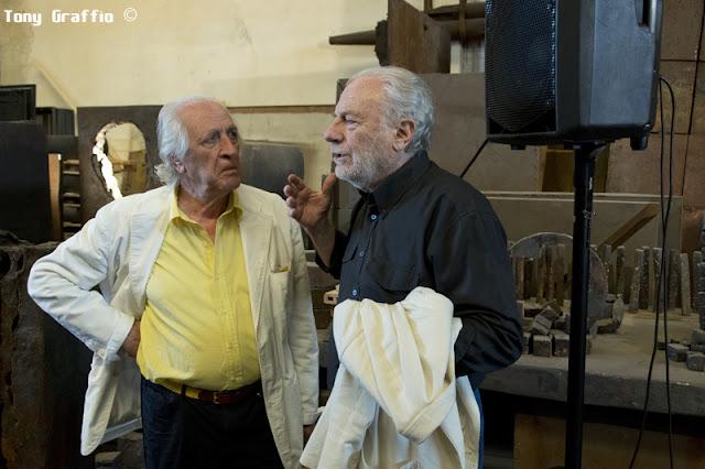 Pino Pinelli e Umberto Mariani