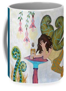 Fairy  Nightcap Art Print Coffee Mug by Jeanne Fry
