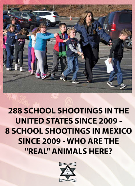 288 SCHOOL SHOOTINGS IN THE U.S. SINCE 2009
