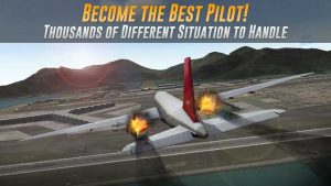 Airline Commander APK MOD (Unlimited Money) Real flight Updated