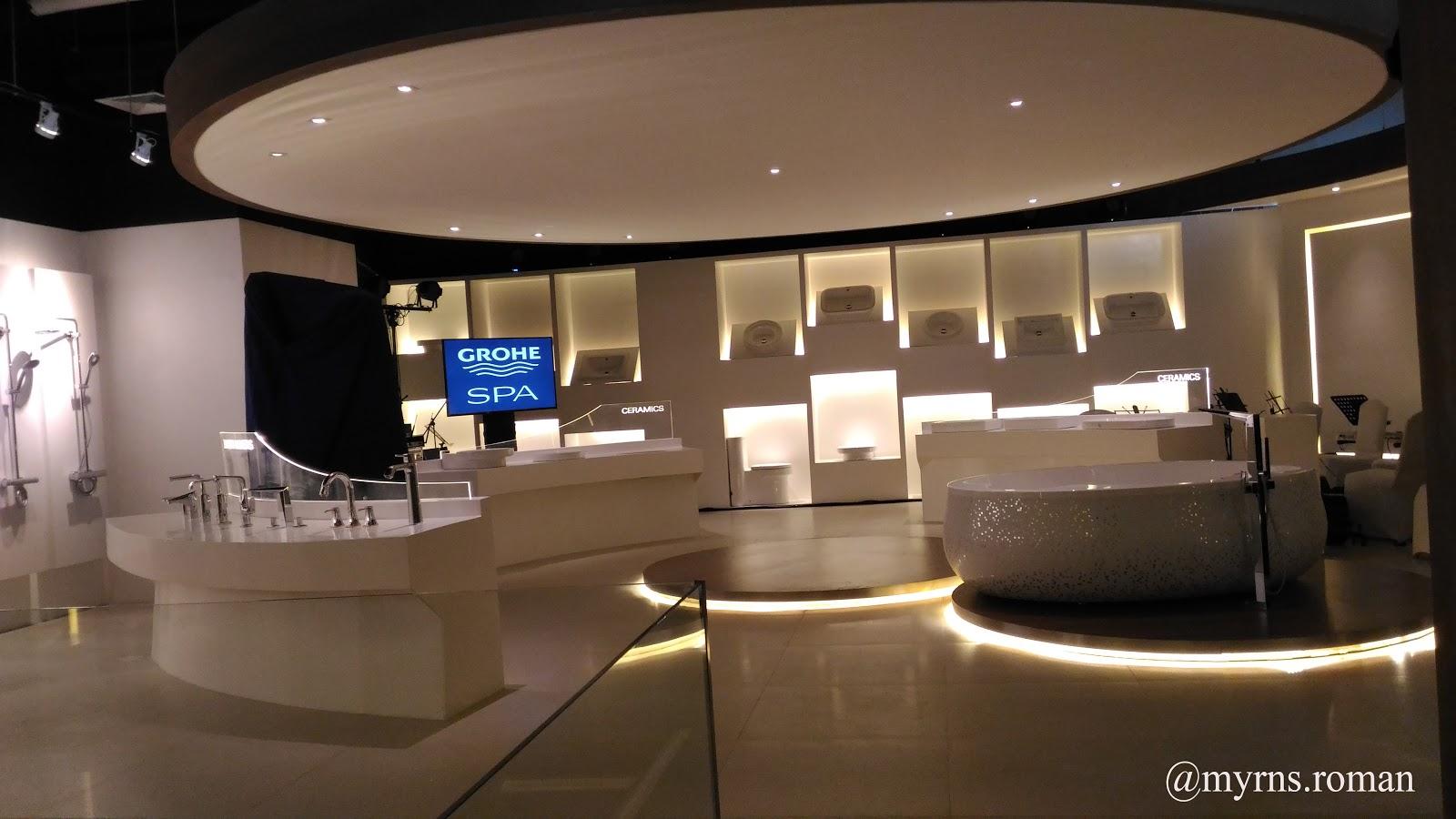Grohe opens showroom in makati city enjoying wonderful world for Showroom grohe barcelona