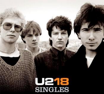 Foto de U2 en portada de disco