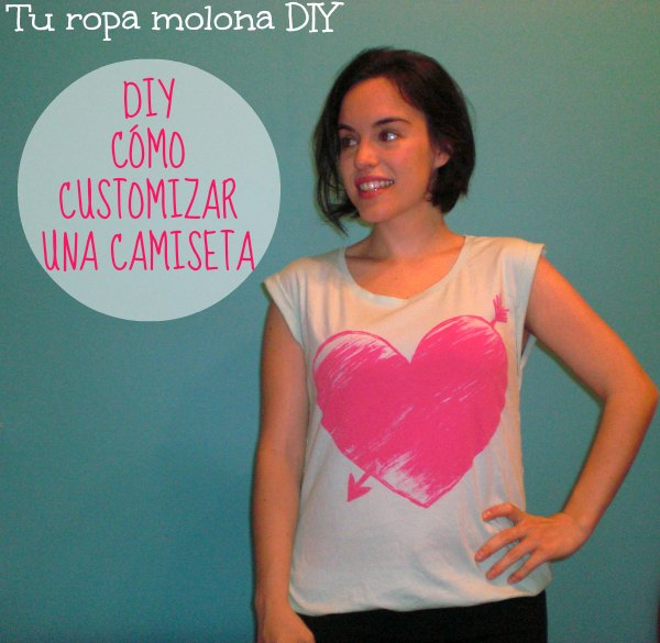 Como customizar una camiseta
