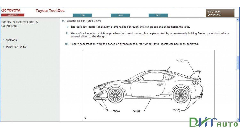 Free Auto Repair Manuals: CAR & TRUCK TOYOTA GT86 SERVICE & REPAIR MANUAL UPDATE 2015