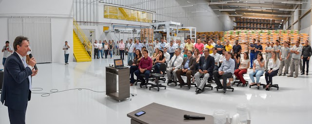 Indústria de rações se instala em Goianápolis