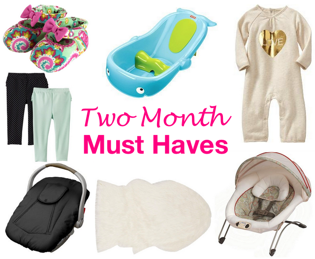 for 2 month old must haves
