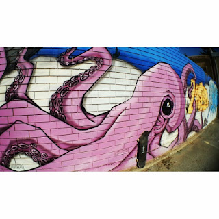 Mark Jansen Skateboarding Adelaide Graffiti Glenelg