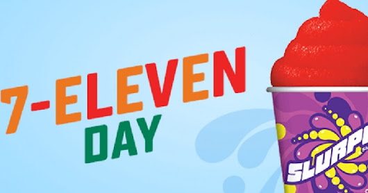 Sales of Fake Mustaches Rise in Anticipation of Free Slurpee Day