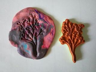 Молд для гипса из пластилина и штампа собственными руками. Автор мастер-класса carambolka.