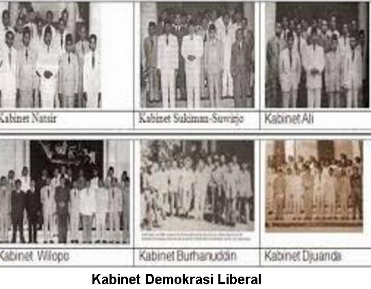 7 Kabinet Masa Demokrasi Liberal dengan Sistem Politik Ekonominya