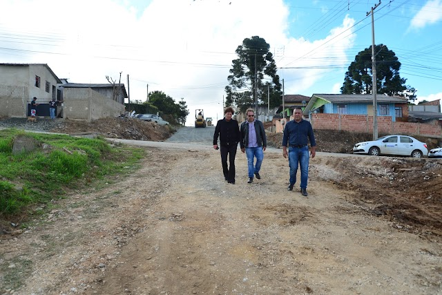 Sergio Pinheiro confirma a  maior obra de pavimentação asfáltica no Monte Castelo
