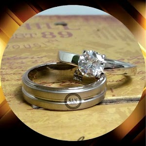 cincin paladium perak p5392