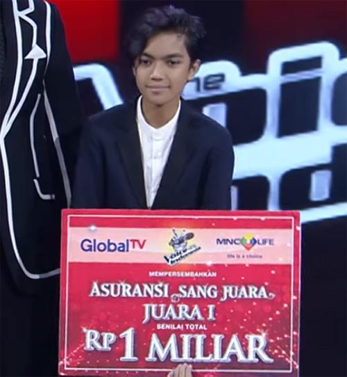 christo Juara Pemenang The Voice Kids Indonesia 3 Desember 2016
