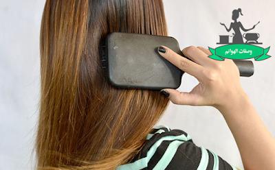 الطريقة الصحيحة لغسل الشعر الطويل